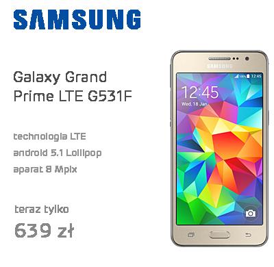Samsung Galaxy Grand Prime LTE G531F