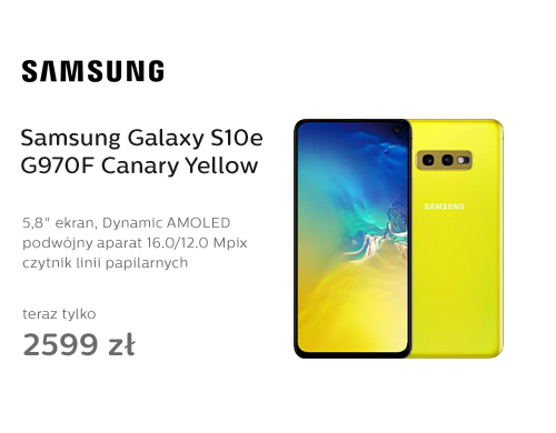 Samsung Galaxy S10e G970F Canary Yellow
