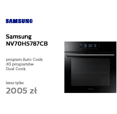 Samsung NV70H5787CB czarny