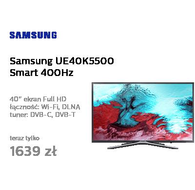 Samsung UE40K5500 Smart FullHD 400Hz WiFi 3xHDMI USB