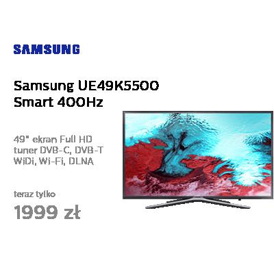 Samsung UE49K5500 Smart FullHD 400Hz WiFi 3xHDMI USB