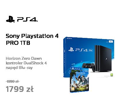 Sony Playstation 4 PRO 1TB + Horizon Zero Dawn