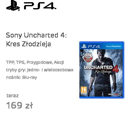 Sony Uncharted 4: Kres Złodzieja