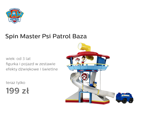 Spin Master Psi Patrol Baza