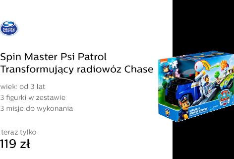 Spin Master Psi Patrol Transformujący radiowóz Cha