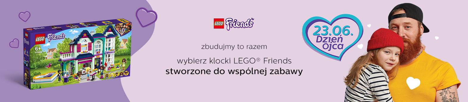 wspólna zabawa z LEGO® Friends