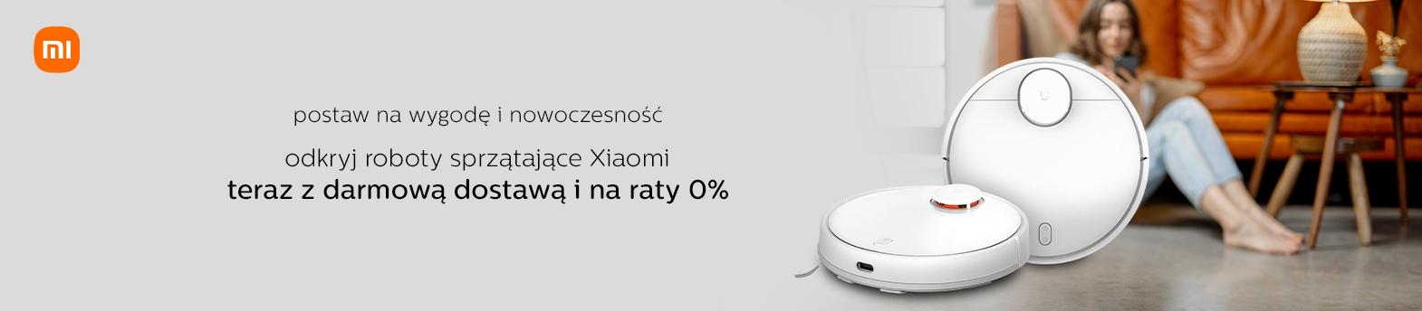 Xiaomi z darmową dostawą i na raty 0%