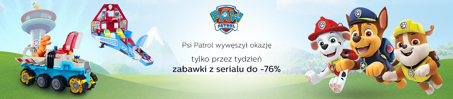 zabawki Psi Patrol do -76%