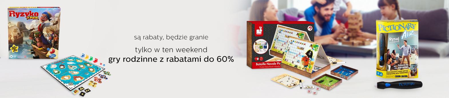 weekend z grami do -60%