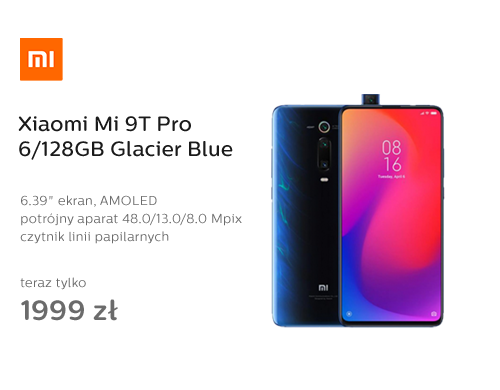Xiaomi Mi 9T Pro 6/128GB Glacier Blue