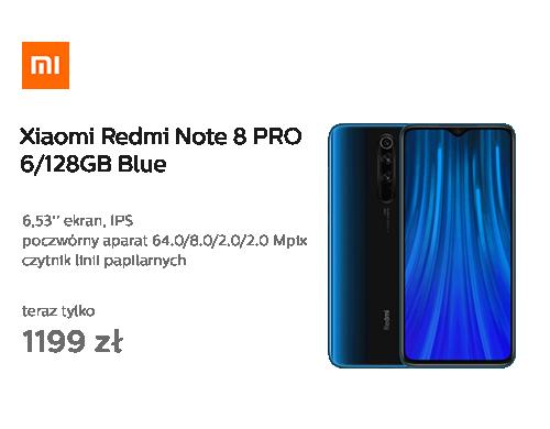 Xiaomi Redmi Note 8 PRO 6/128GB Blue