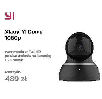 Xiaoyi Yi Dome 1080p czarna