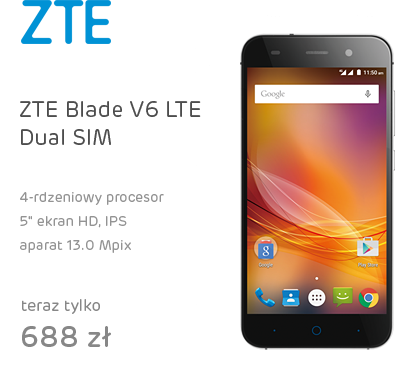 ZTE Blade V6 LTE Dual SIM