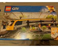 Test LEGO City Pociąg pasażerski