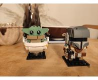 Test LEGO BrickHeadz Mandalorianin i Dziecko