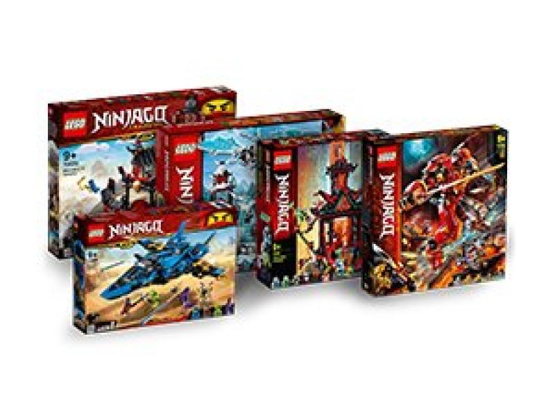 Kup wybrane zestawy LEGO® NINJAGO® i odbierz 10% rabatu