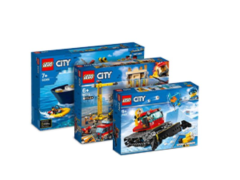 Kup wybrane zestawy LEGO® City teraz z rabatem 10%