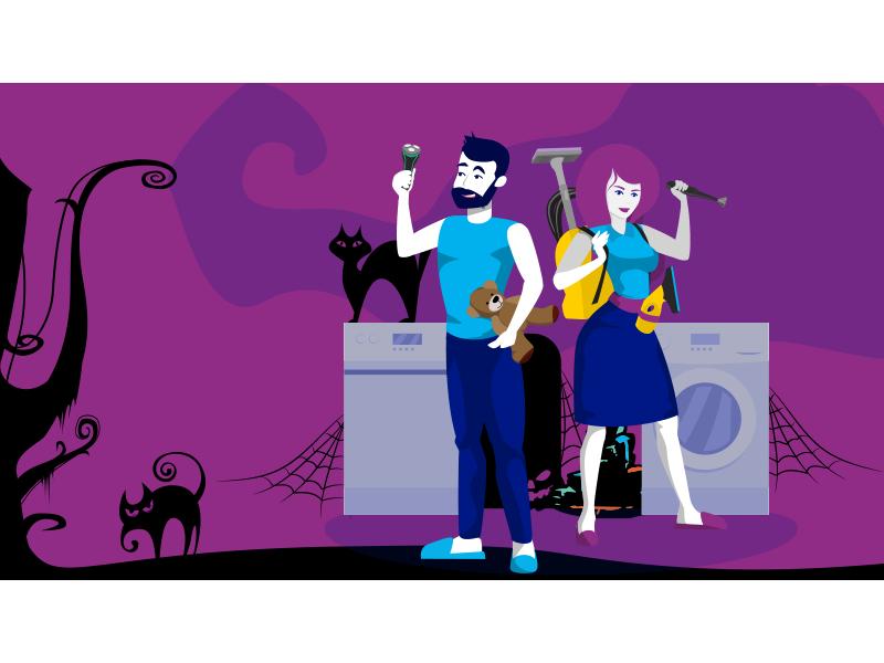 Pogromcy codziennych horrorów - oszczędź na zakupach i wypędź koszmary ze swojego domu