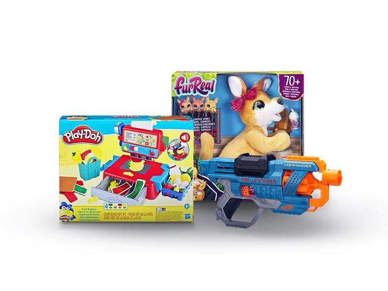 Zamów zabawki z rabatami aż do 50% i spraw dziecku niespodziankę