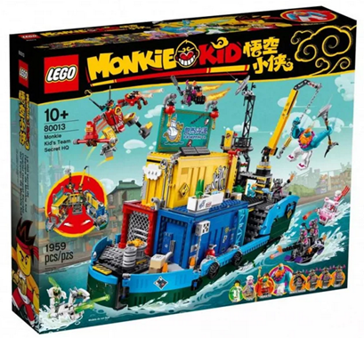 LEGO® Monkie Kid Tajne dowództwo ekipy Monkie Kida