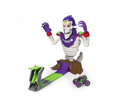 Spin Master Monster Jam Zestaw z Zombie