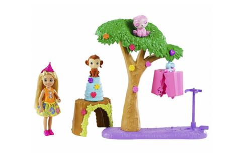 Barbie Chelsea Urodziny z niespodzianką