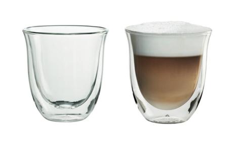 DeLonghi Szklanki do cappuccino zestaw 2 sztuki
