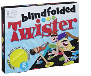 Hasbro Twister Blindfolded