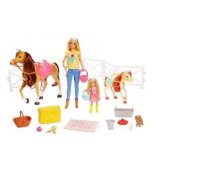 Barbie Stadnina koni zestaw