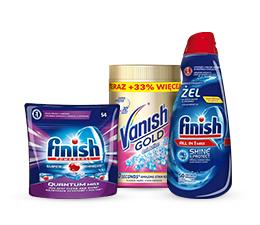 News Teraz produkty Vanish i Finish z rabatami do 20%