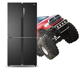 News Wygraj lodówkę Haier z dostawą monster truckiem