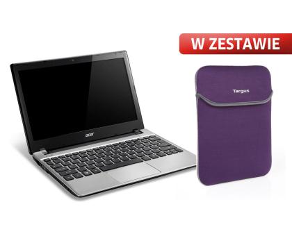 Acer AO756 P987M/8GB/500/7HP64X srebrny+ETUI-125196 - Zdjęcie 1