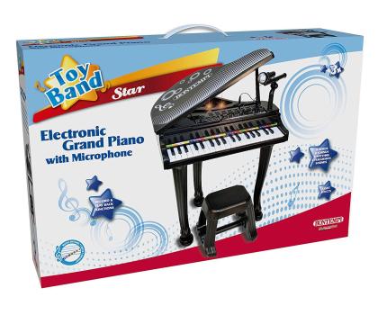 Bontempi STAR Fortepian elektroniczny, mikrofon i stołek-416273 - Zdjęcie 4