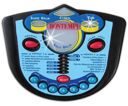 Bontempi STAR - Perkusja 4 el. z elektronicznym pulpitem-415423 - Zdjęcie 2