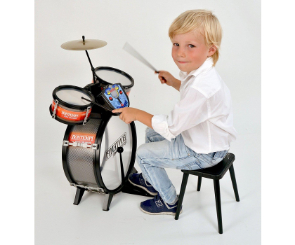 Bontempi STAR - Perkusja 4 el. z elektronicznym pulpitem-415423 - Zdjęcie 3