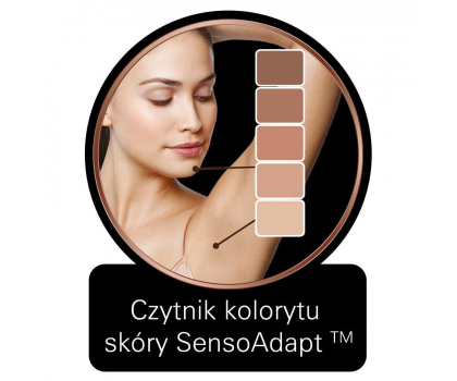 Braun Silk-expert IPL BD 5009 biało-złoty + szczoteczka-328945 - Zdjęcie 5