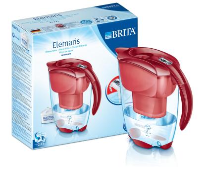 Brita Elemaris Meter czerwony 2,4L + 3 wkłady Maxtra-330897 - Zdjęcie 3