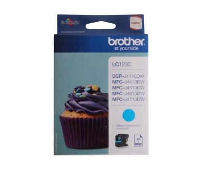 Brother LC123C cyan 600str.-125363 - Zdjęcie 3