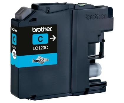 Brother LC123C cyan 600str.-125363 - Zdjęcie 1