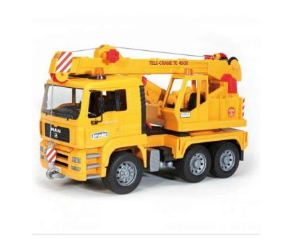 Bruder Dźwig MAN TGA 02754 z żółtym kaskiem (BR-01973)