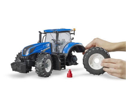 Bruder Traktor New Holland T7.315-411374 - Zdjęcie 2