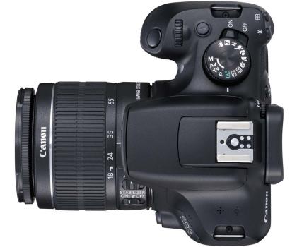 Canon EOS 1300D czarny + 18-55 IS II-367657 - Zdjęcie 5