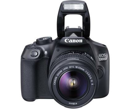 Canon EOS 1300D czarny + 18-55 IS II-367657 - Zdjęcie 3