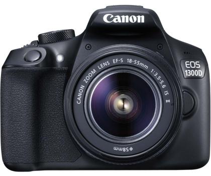 Canon EOS 1300D czarny + 18-55 IS II-367657 - Zdjęcie 2