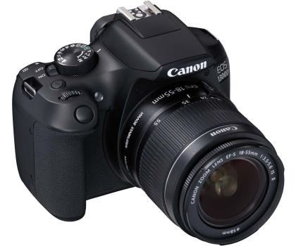 Canon EOS 1300D czarny + 18-55 IS II-367657 - Zdjęcie 1