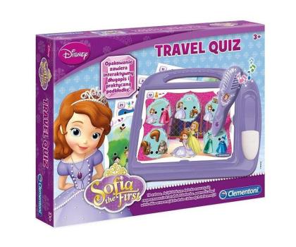 Clementoni Disney Travel Quiz Jej wysokość Zosia-228910 - Zdjęcie 1