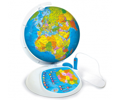Clementoni Interaktywny EduGlobus Poznaj świat-264734 - Zdjęcie 3