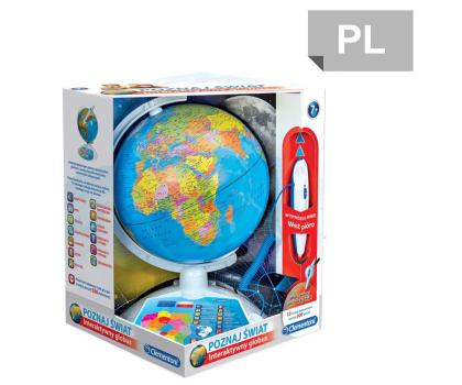 Clementoni Interaktywny EduGlobus Poznaj świat-392986 - Zdjęcie 1