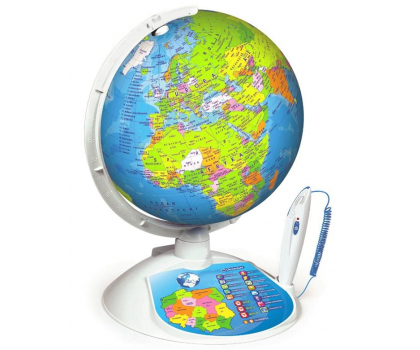Clementoni Interaktywny EduGlobus Poznaj świat-392986 - Zdjęcie 2