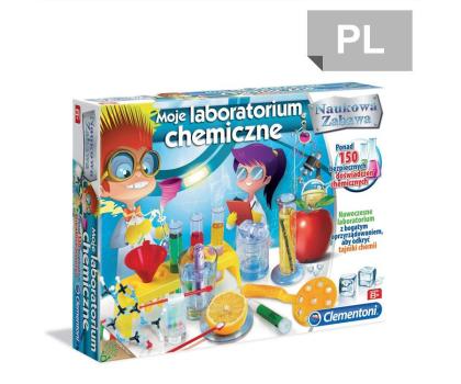 Clementoni Moje laboratorium chemiczne -314014 - Zdjęcie 1